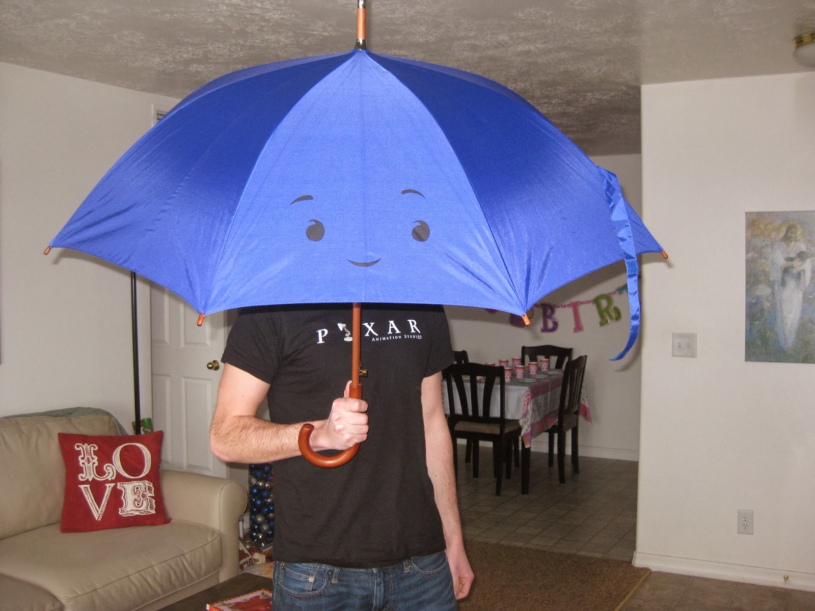 Todays Post Is Another Pretty Special Itemstraight From The Pixar Studio Store Not Open To Public Blue Umbrella Well