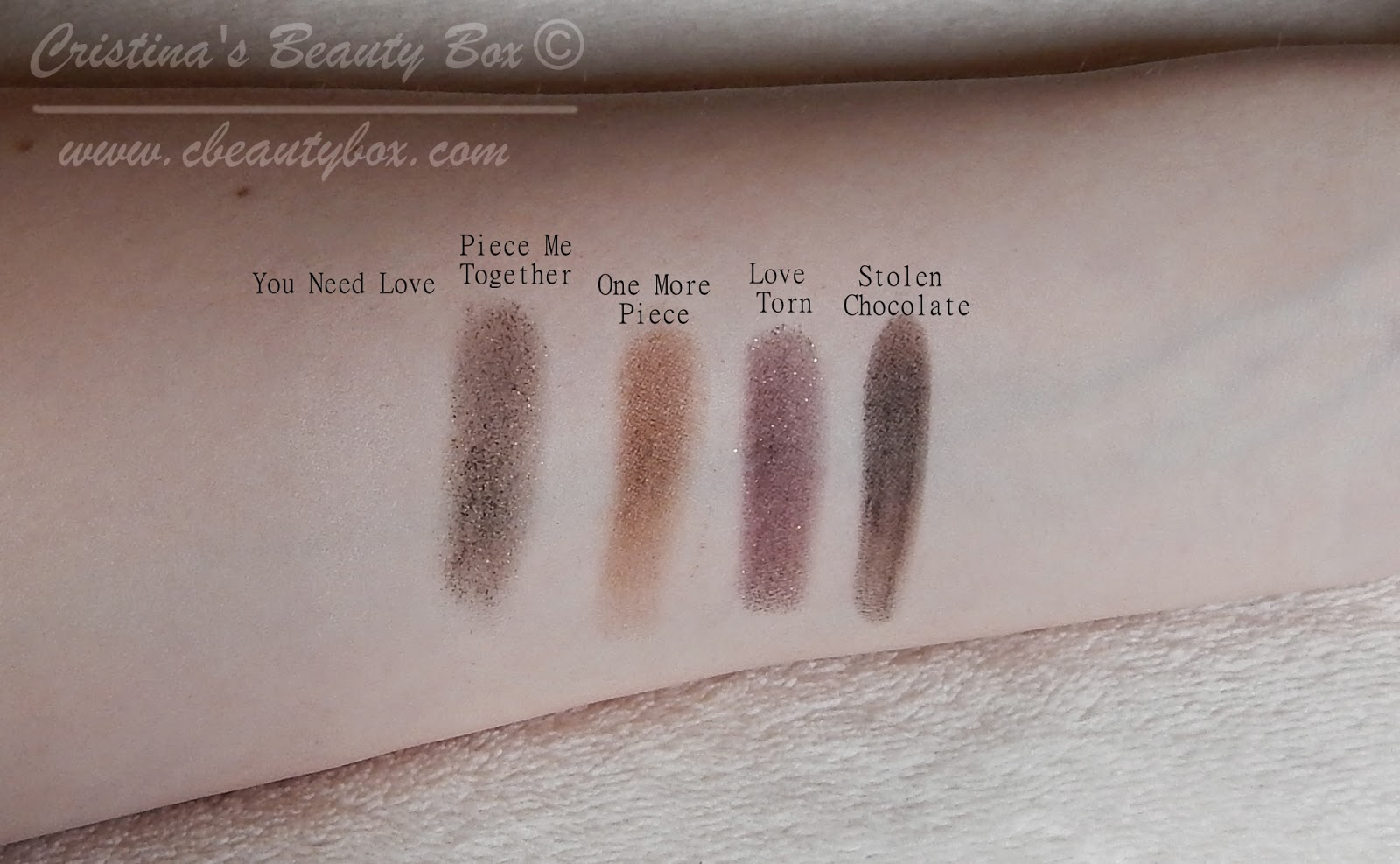 I ♥ Makeup I Heart Chocolate Palette - Review and Demo