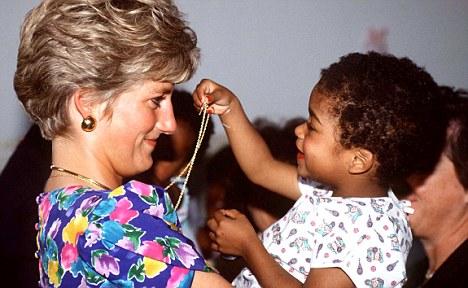 princess diana princess dianas charity work