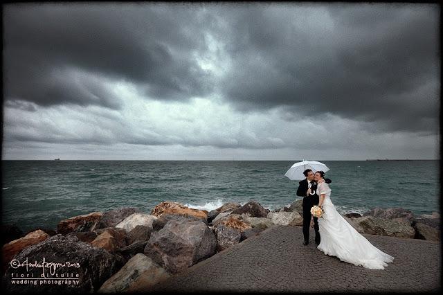 foto matrimonio spiaggia mare Albissola