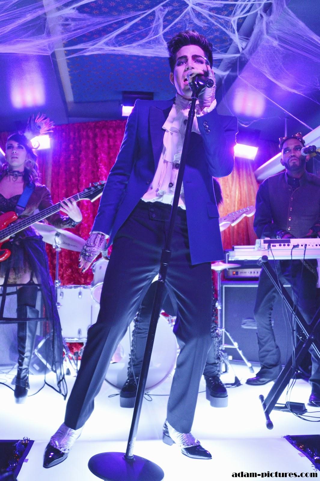 Lilybop 2012: Adam Lambert on Pretty Little Liars ...