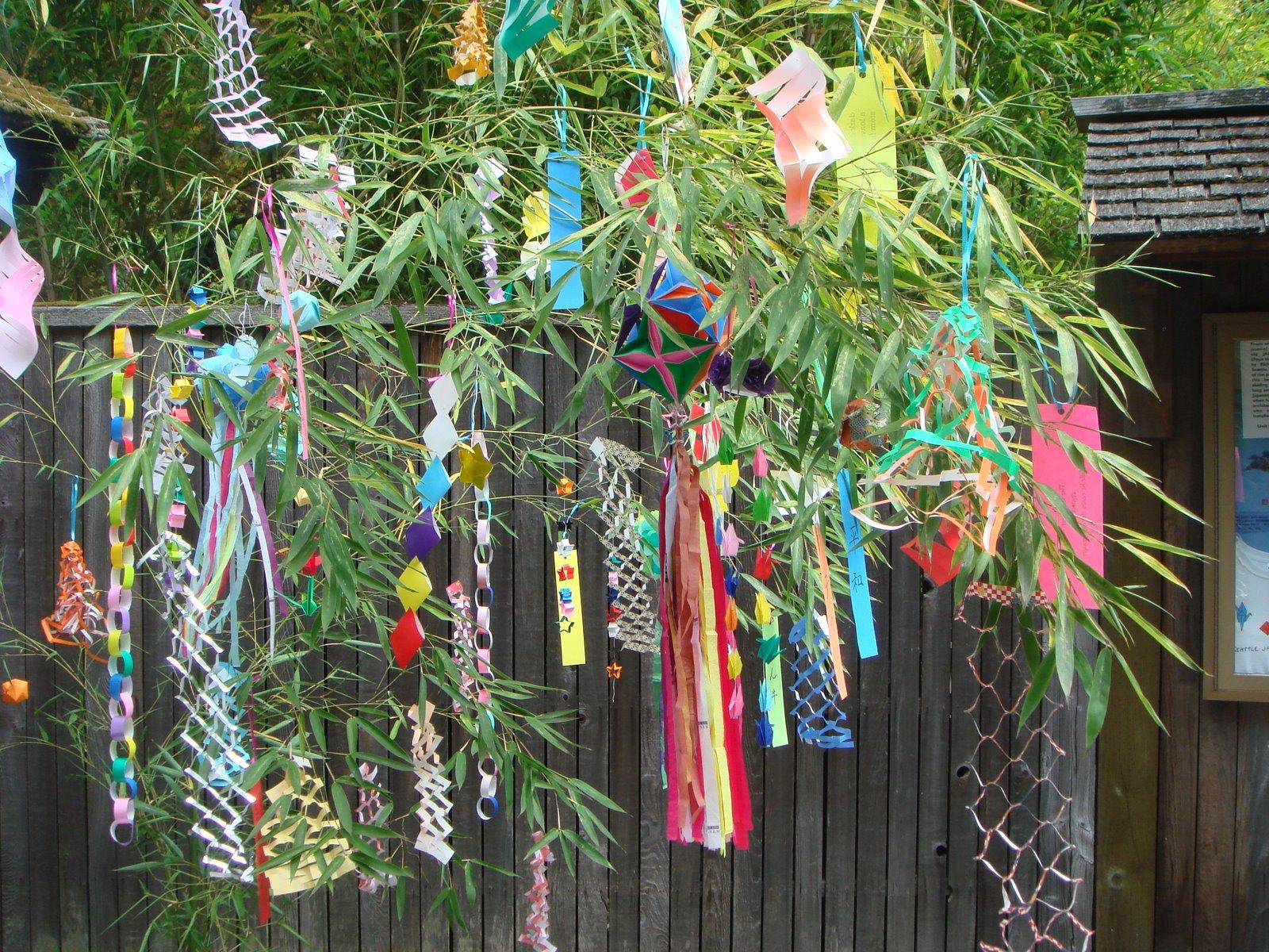 Seattle tacoma kimono club tanabata star festival for Festival decoration ideas