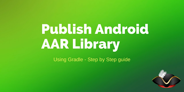 How to publish android library using gradle
