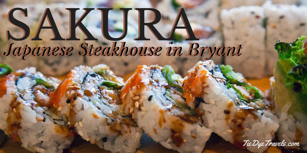 Sushi in Bryant