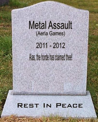 Metal Assault - Tombstone