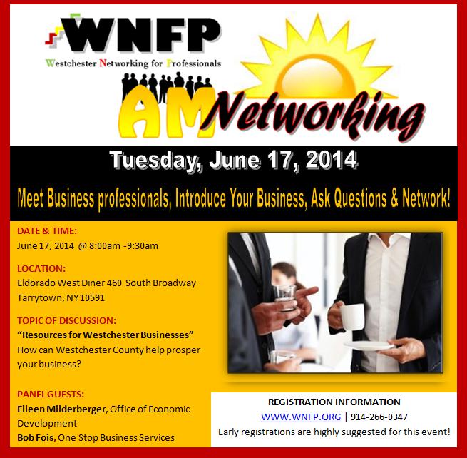 AM Business Networking Breakfast 06/17/14