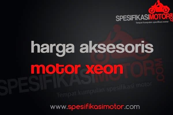 Daftar Harga Aksesoris Motor Yamaha Xeon Murah Terbaru