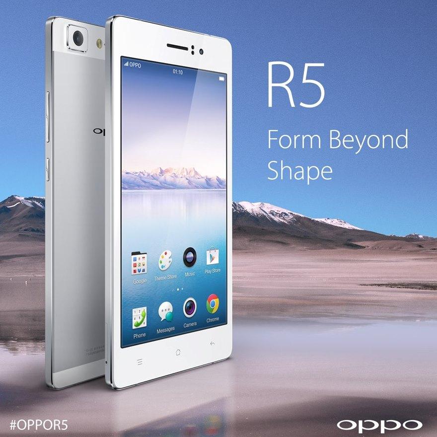 Oppo R5 Price in India