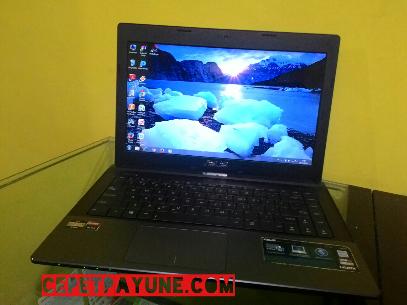 Harga Jual Laptop Asus Amd E2 Bekas