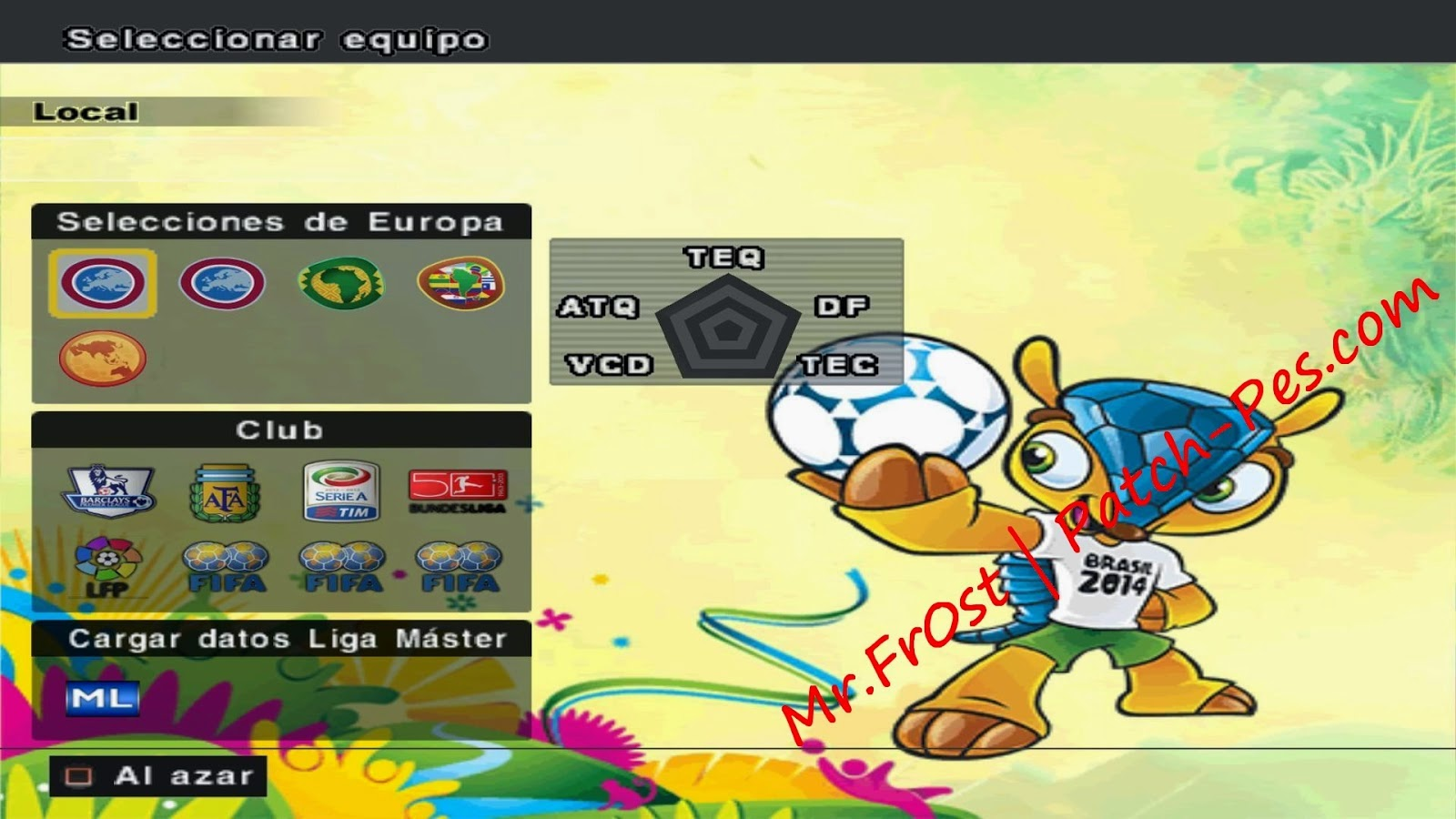 PES6 Patch WorldCup 2014 by Mr.Fr0st | PES6 Gallery