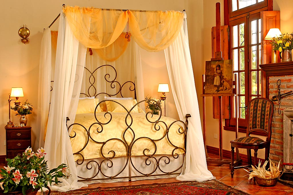 wrought iron bed furniture designs an interior design