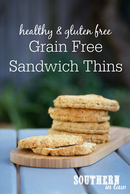 Low Carb Sandwich Thins Recipe  healthy paleo bread recipe, low fat, gluten free, grain free, high protein, clean eating friendly