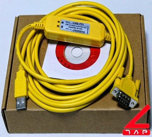 Cáp lập trình USB-PPI
