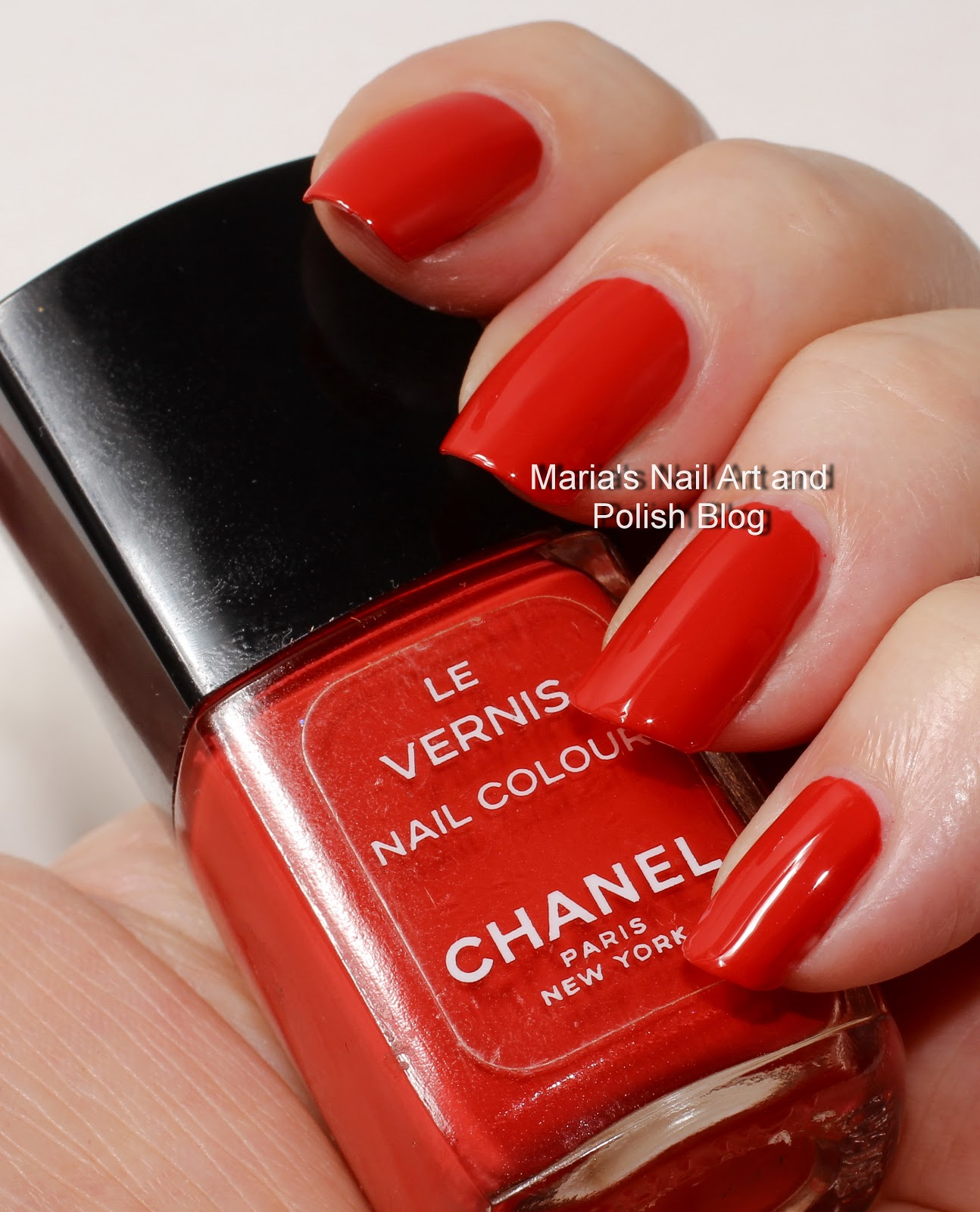 Marias Nail Art And Polish Blog Flushed With Stripes And: Marias Nail Art And Polish Blog: Chanel Corail