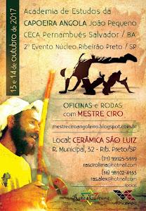 2º Evento de Capoeira Angola con el Mestre Ciro