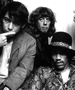 Eric Burdon, John Mayall and Jimi Hendrix