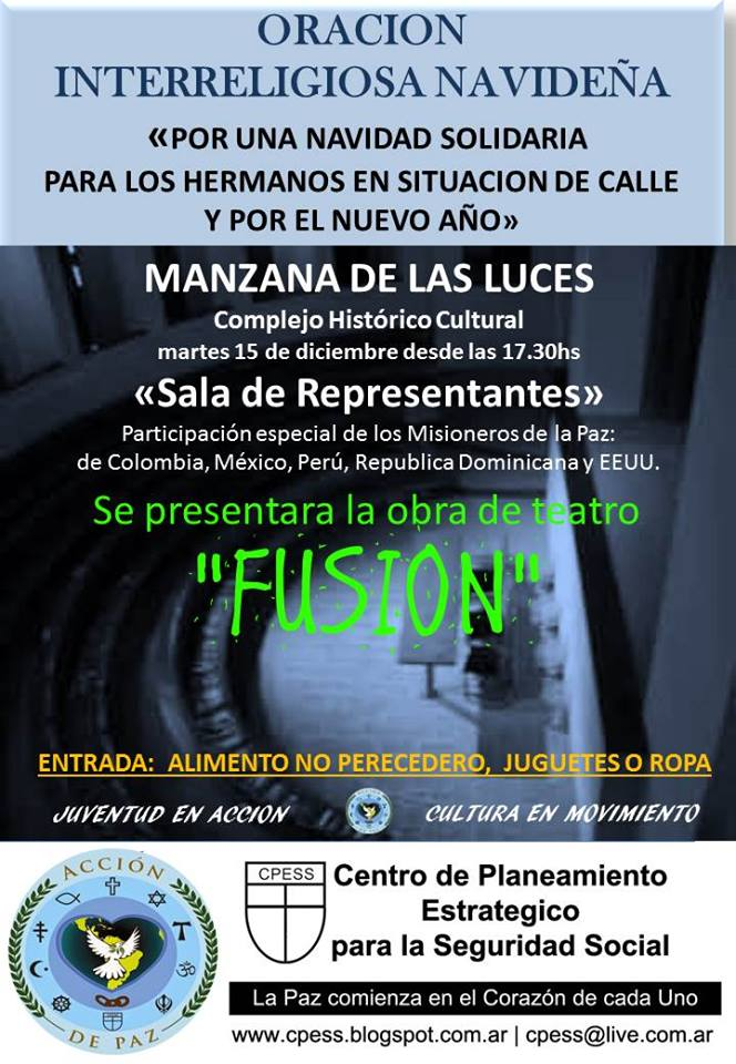 CONSEJO DE CULTURA DE ACCION DE PAZ