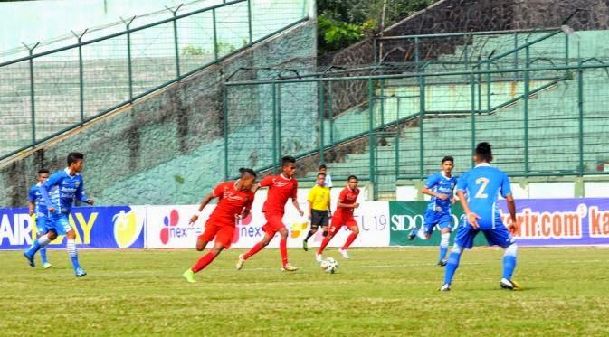 Timnas Indonesia U16 vs Persib U16 2015