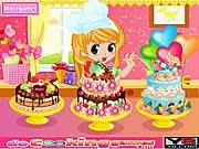 Bánh ngọt, game ban gai