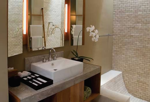 Bathroom remodeling ideas pictures interior designs and for Best boutique hotel bathrooms