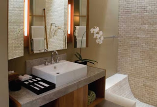 luxurious interior design of Elysian Boutique Hotel on hotel restroom design