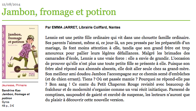 http://www.pagedeslibraires.fr/livre-6064/jambon-fromage-et-potiron.html