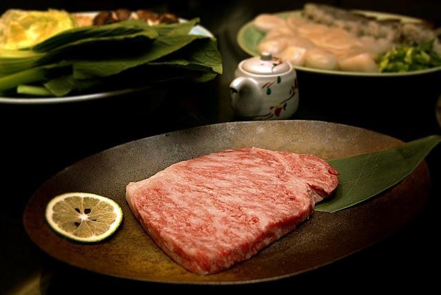 Diamond Hotel's Yurakuen Japanese Restaurant Wagyu A5