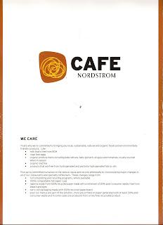 Canon Beach Cafe Menu