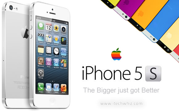 Apple iPhone5S coming out in 2013 June in 8 Colors and Specs updates