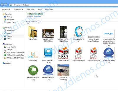 Menampilkan Kembali Thumbnail pada Folder Gambar