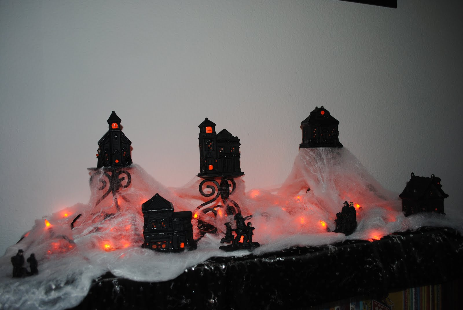 quite pinteresting: diy dollar store halloween village!