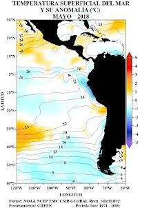 El Niño/La Niña en América Latina - Junio 2018