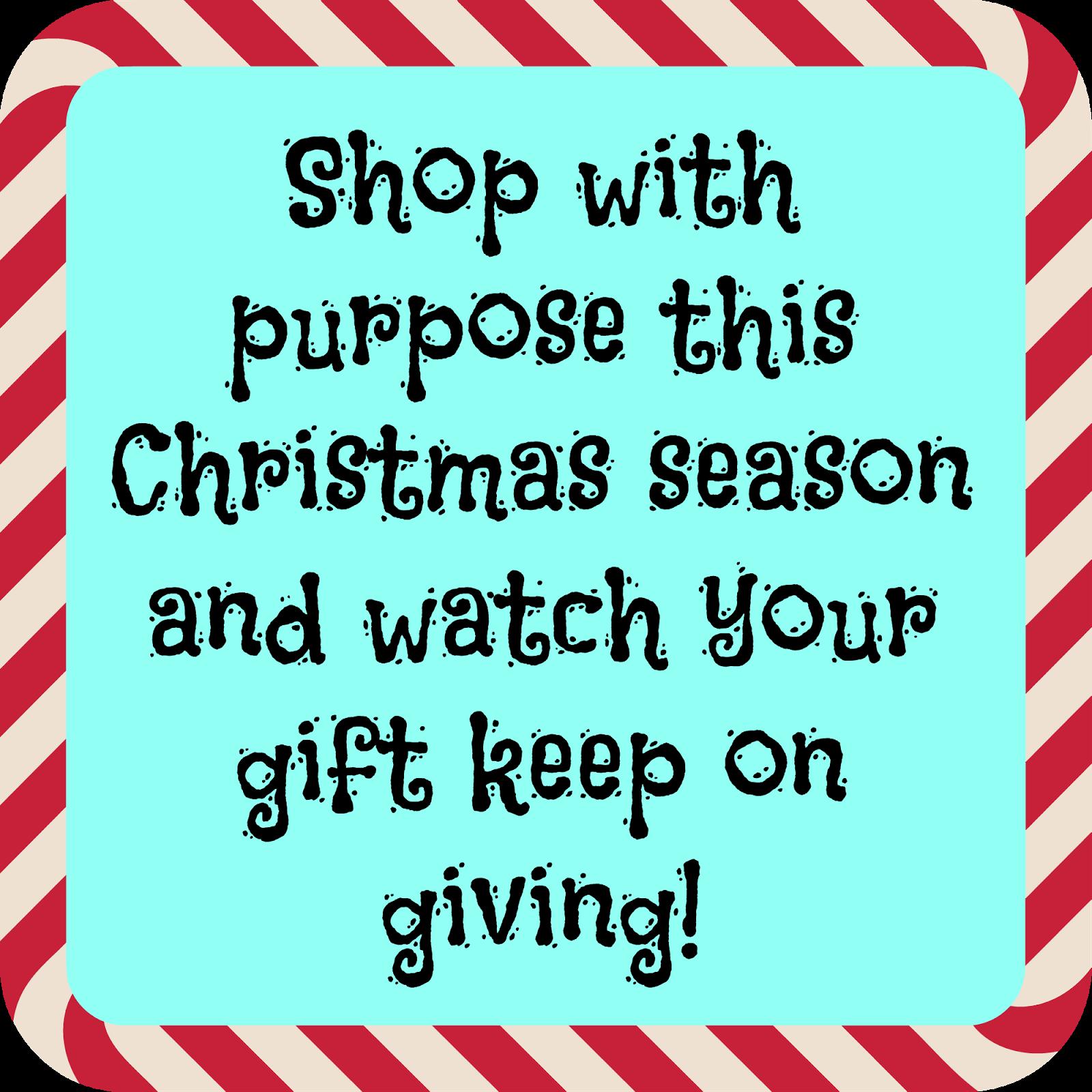 Keep Calm and Love Big: Shop With Purpose This Christmas Season!