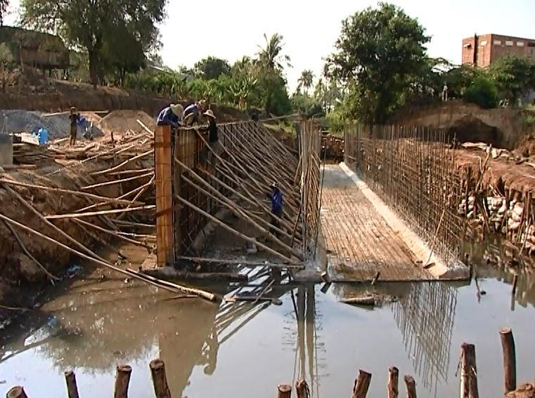Gia Lai: Đẩy nhanh tiến độ xây dựng Kè chống sạt lở bờ tây sông Ayun