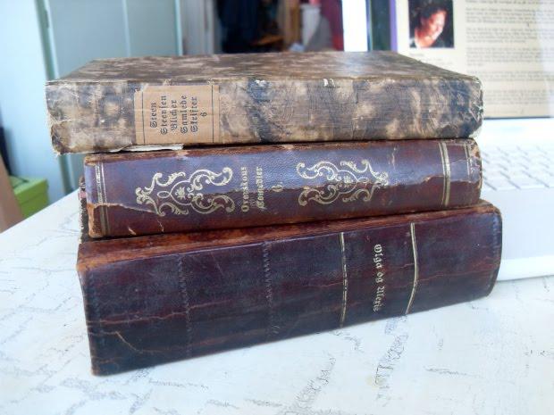 Bøger med gotisk skrift