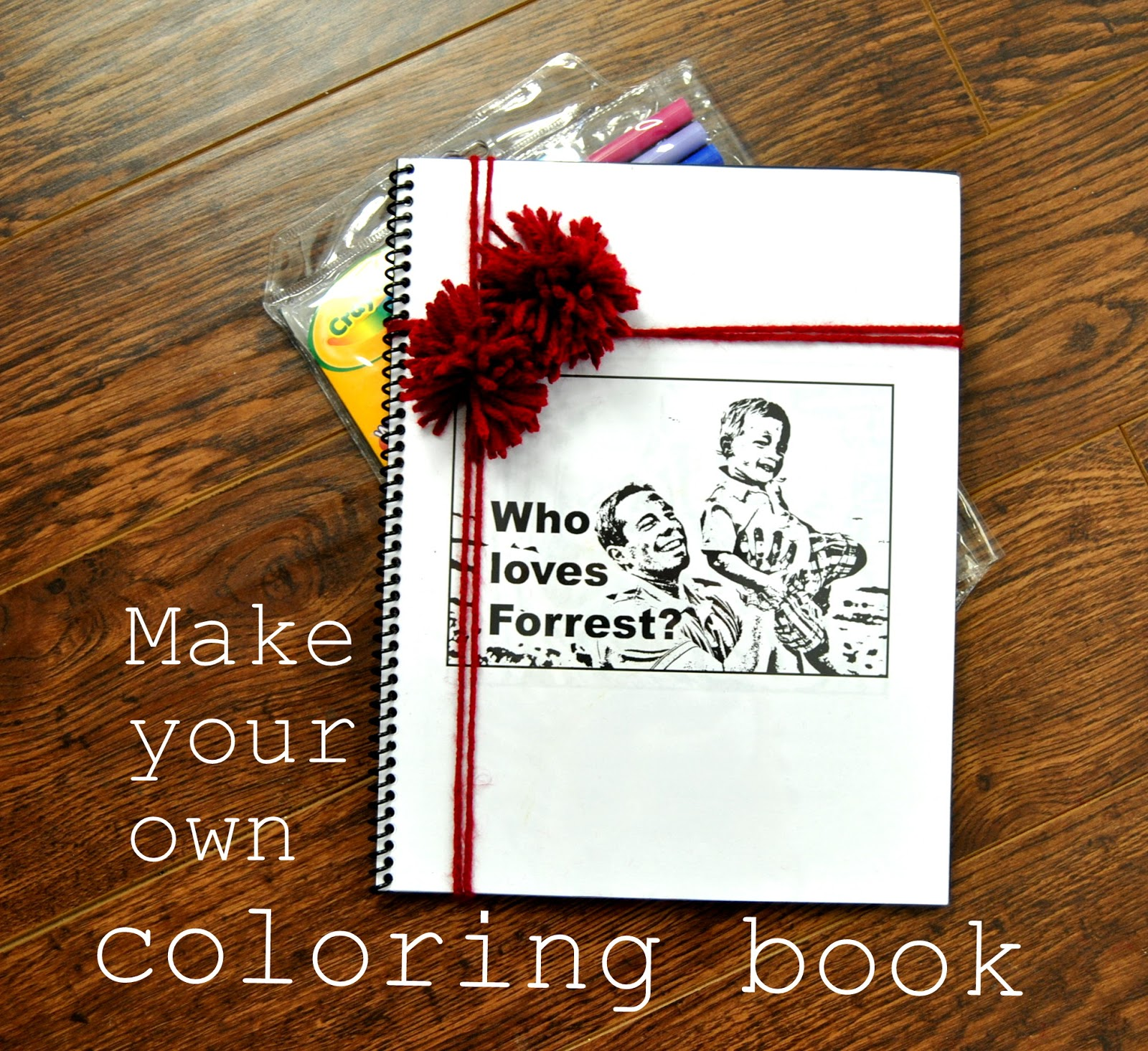 EAT+SLEEP+MAKE: SYS: Make Your Own Coloring Book {Rachel with ...