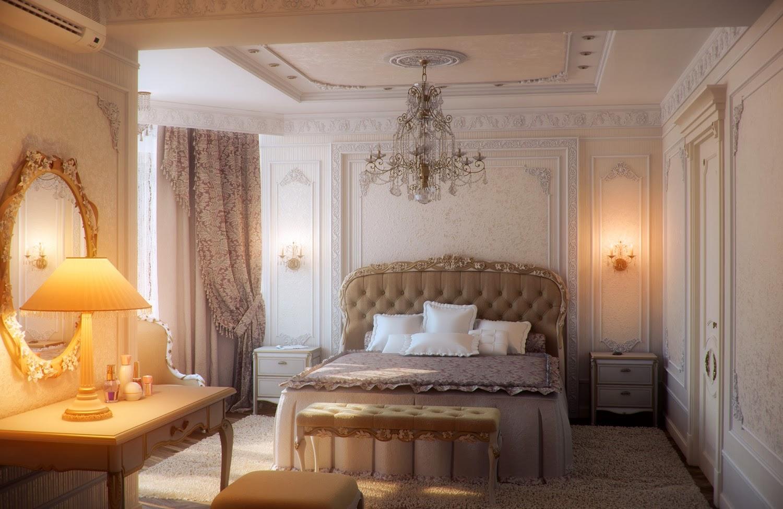 Pareti Camera Da Letto Color Avorio : Il mio angolo nel mondo camere da letto classiche le più belle