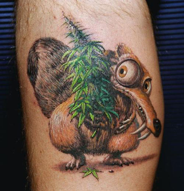 ice age tattoo