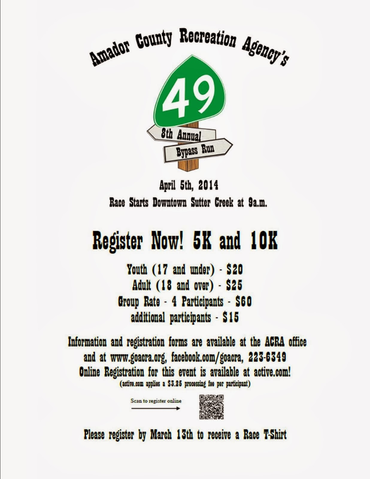 49er Bypass Run - Sat Apr 5
