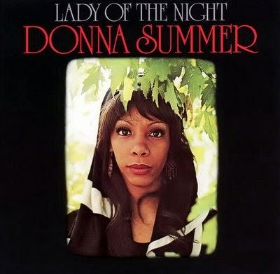 Aula particular de inglês com música | Capa do primeiro disco de Donna Summer