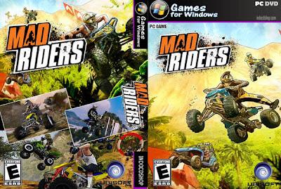 Jogo - Mad Riders PC DVD Capa