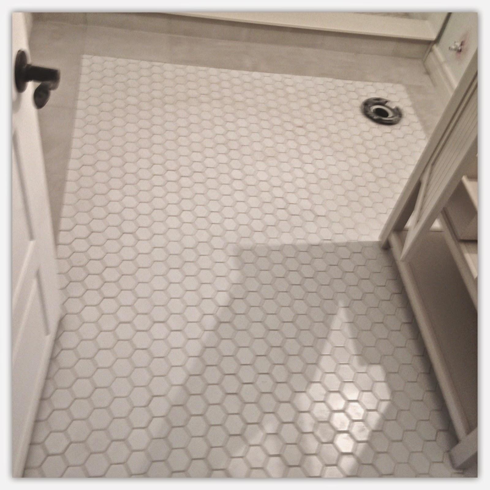 Perfection Decor Basement Bathroom Progress - Best flooring for cold basement