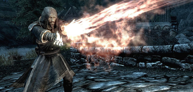 Skyrim Fighting Mages Tip