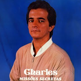"Capa do LP ""Missões Secretas"" do cantor Charles Meira"