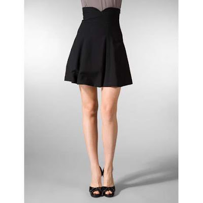 Black high wasted Skirt