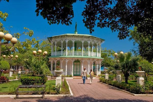 Parque Central en Puerto Plata