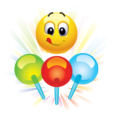 Lollypops emoticon