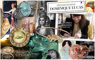 Jewelry Designer Spotlight: Dominique Lucas
