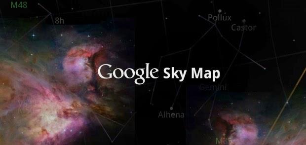 Google Sky Map gratis para android