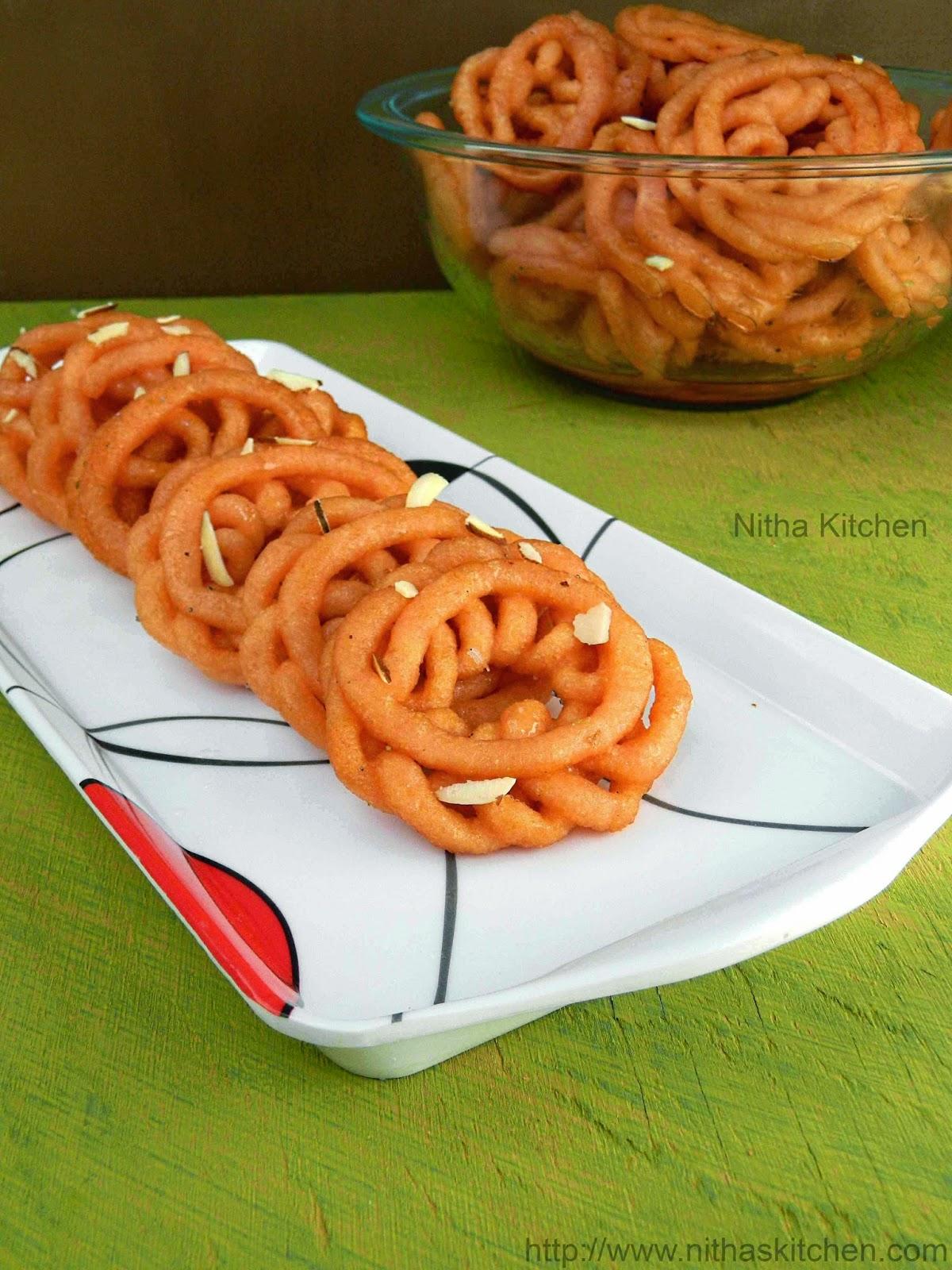 Perfect Soft Jhangri Jalebi using Mixie   Step by Step ...
